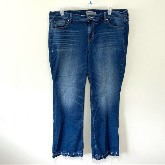 Torrid Midrise Distressed Slim Boot Jeans 20